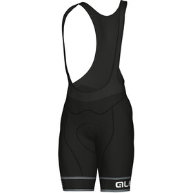 Alé Cycling Graphics PRR Sella Bib Shorts Heren, black-white
